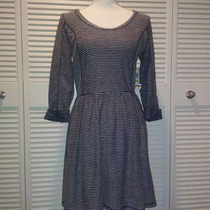 Long-sleeve Crop dress
